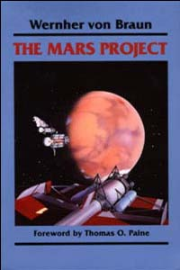 Cover for VON BRAUN: The Mars Project
