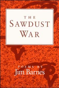 Cover for BARNES: The Sawdust War: Poems