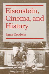 Cover for GOODWIN: Eisenstein, Cinema, and History