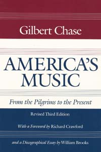Cover for CHASE: America's Music: From the Pilgrims to the Present