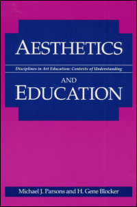 Cover for PARSONS: Aesthetics and Education. Click for larger image