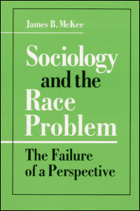 Sociology and the Race Problem - Cover
