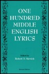link to catalog page STEVICK, One Hundred Middle English Lyrics
