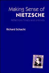 Cover for SCHACHT: Making Sense of Nietzsche: Reflections Timely and Untimely