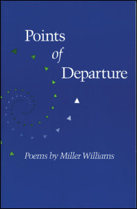 Cover for WILLIAMS: Points of Departure: Poems. Click for larger image