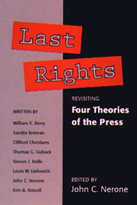 Cover for NERONE: Last Rights: Revisiting *Four Theories of the Press*