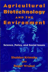 Agricultural Biotechnology and the Environment - Cover
