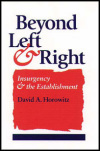 link to catalog page HOROWITZ, Beyond Left and Right