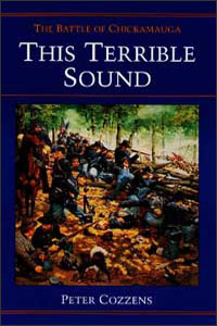 Cover for COZZENS: This Terrible Sound: The Battle of Chickamauga