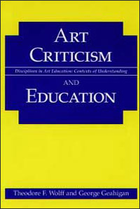 Cover for WOLFF: Art Criticism and Education