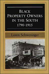 Black Property Owners in the South, 1790-1915 - Cover