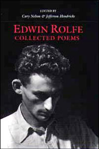 Cover for ROLFE: Collected Poems