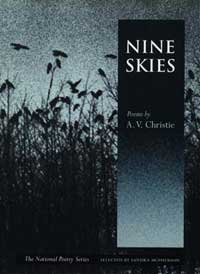 Cover for CHRISTIE: Nine Skies: Poems