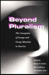 link to catalog page, Beyond Pluralism