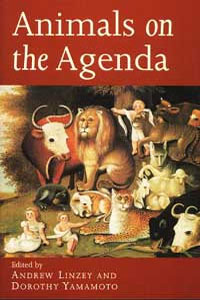 Cover for LINZEY: Animals on the Agenda: Questions about Animals for Theology and Ethics