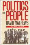 link to catalog page MATHEWS, Politics for People