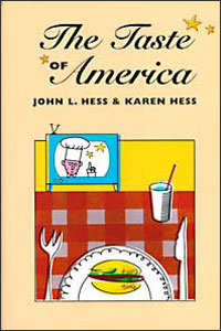 Cover for HESS: The Taste of America