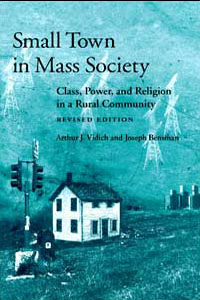 Small Town in Mass Society - Cover
