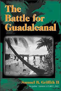 The Battle for Guadalcanal - Cover