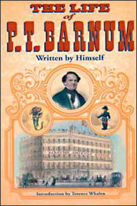 Cover for BARNUM: The Life of P. T. Barnum, Written by Himself