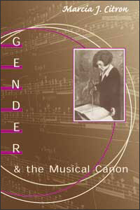 Cover for CITRON: Gender and the Musical Canon