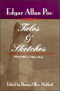 Cover for POE: Tales and Sketches, vol. 1: 1831-1842