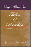 link to catalog page POE, Tales and Sketches, vol. 2: 1843-1849