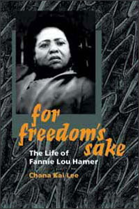 Cover for LEE: For Freedom's Sake: The Life of Fannie Lou Hamer
