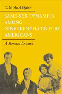 Same-Sex Dynamics among Nineteenth-Century Americans - Cover