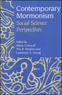 Cover for CORNWALL: Contemporary Mormonism: Social Science Perspectives. Click for larger image