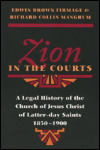 link to catalog page, Zion in the Courts