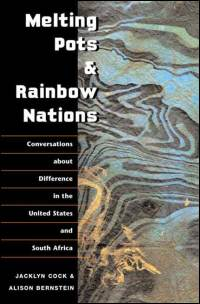 Cover for COCK: Melting Pots and Rainbow Nations: Conversations about Difference in the United States and South Africa. Click for larger image
