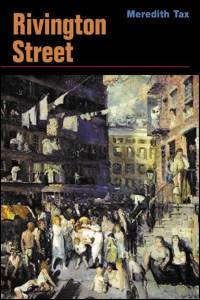 Cover for TAX: Rivington Street: A Novel. Click for larger image