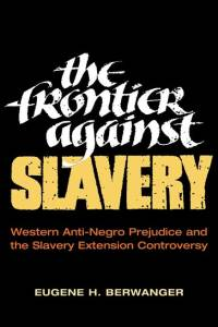 The Frontier against Slavery - Cover