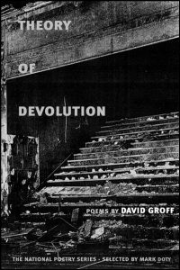 Cover for GROFF: Theory of Devolution: Poems. Click for larger image
