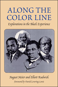 Cover for meier: Along the Color Line: Explorations in the Black Experience
