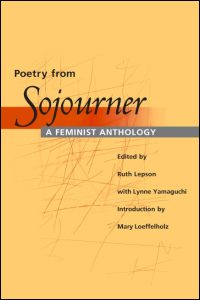 Cover for LEPSON: Poetry from Sojourner: A Feminist Anthology. Click for larger image