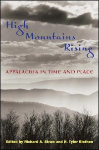 Cover for STRAW: High Mountains Rising: Appalachia in Time and Place. Click for larger image