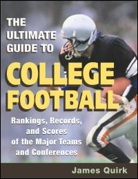 Cover for QUIRK: The Ultimate Guide to College Football: Rankings, Records, and Scores of the Major Teams and Conferences. Click for larger image