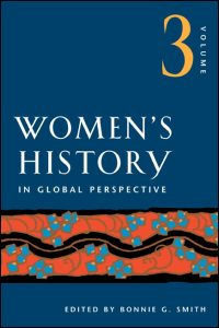 Women's History in Global Perspective, Volume 3 - Cover