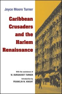 Cover for TURNER: Caribbean Crusaders and the Harlem Renaissance. Click for larger image