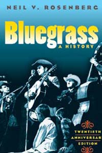 Cover for ROSENBERG: Bluegrass: A History