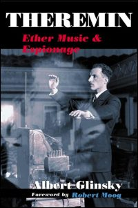 Cover for GLINSKY: Theremin: Ether Music and Espionage. Click for larger image