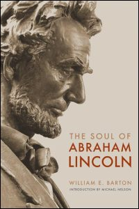 Cover for BARTON: The Soul of Abraham Lincoln. Click for larger image