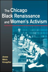 Cover for KNUPFER: The Chicago Black Renaissance and Women's Activism. Click for larger image