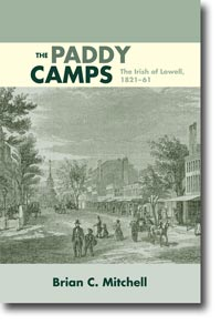 Cover for MITCHELL: The Paddy Camps: The Irish of Lowell, 1821-61