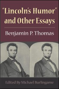 Cover for THOMAS: Lincoln's Humor and Other Essays. Click for larger image