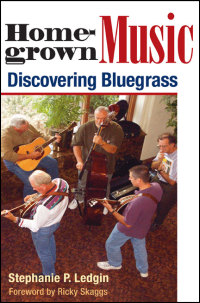Cover for LEDGIN: Homegrown Music: Discovering Bluegrass. Click for larger image