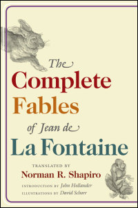Cover for La Fontaine: The Complete Fables of Jean de La Fontaine. Click for larger image