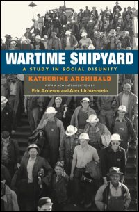 Wartime Shipyard - Cover